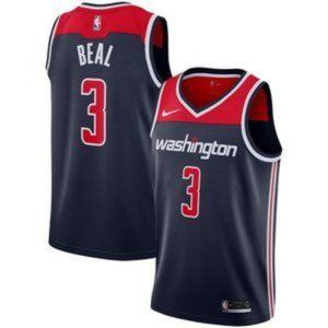 Washington Wizards Bradley Beal Navy Jersey